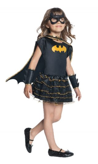 Batgirl Ruffle Tutu Dress Up Set, Child