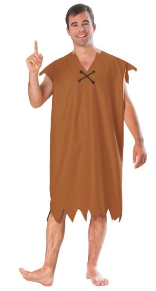 Barney Rubble Classic Costume, Adult