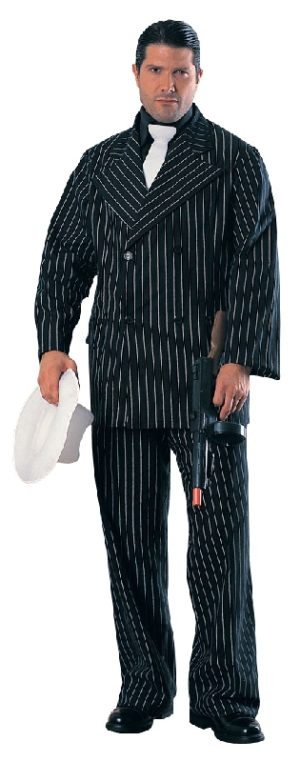 Gangster Deluxe Costume, Adult