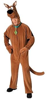 Scooby-Doo Deluxe Costume, Adult