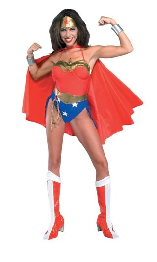 Wonder Woman Costume, Adult