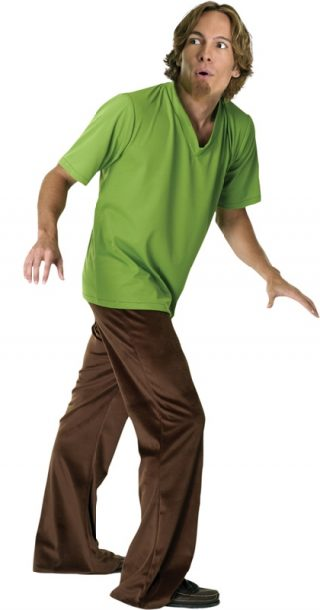 Shaggy Deluxe Costume, Adult