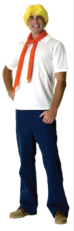 Fred Deluxe Costume, Adult