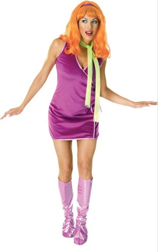 Daphne Deluxe Costume, Adult