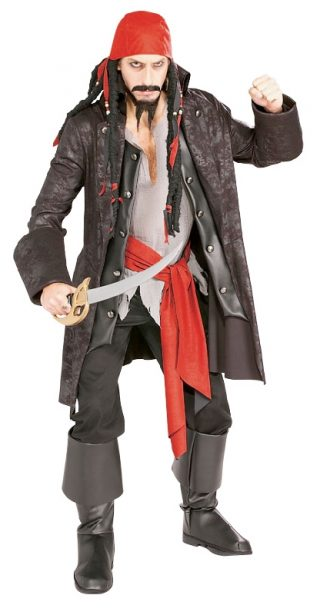 Captain Cutthroat Deluxe Pirate, Adult