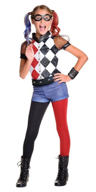 Harley Quinn Dc Superhero Girls Deluxe, Child