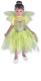 Green Fairy Fairy Costume, Child