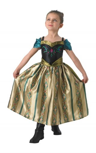Anna Coronation Deluxe Costume, Child