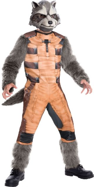 ROCKET RACOON DELUXE COSTUME-CHILD