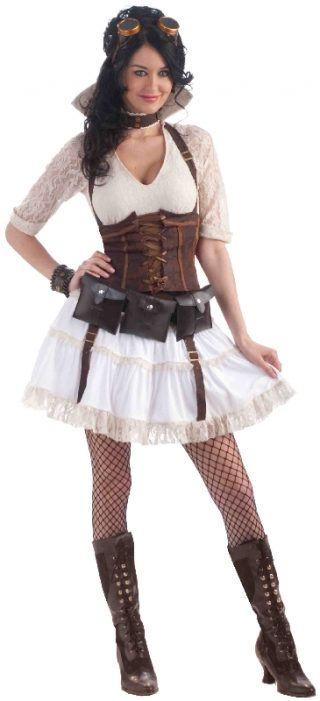 STEAMPUNK SALLY COSTUME ADULT
