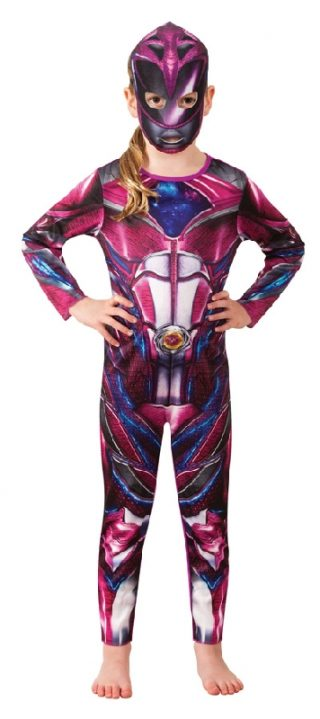 POWER RANGERS PINK CLASSIC COSTUME CHILD