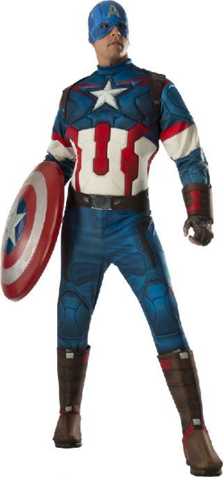 Captain America Avengers 2 Deluxe, Adult