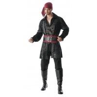 Black Beard Deluxe Costume, Adult