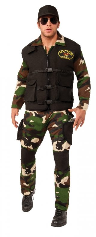 Seal Team 3 Deluxe Costume, Adult