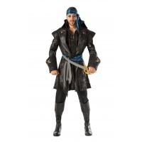 Captain Black Heart Pirate Costume, Adult