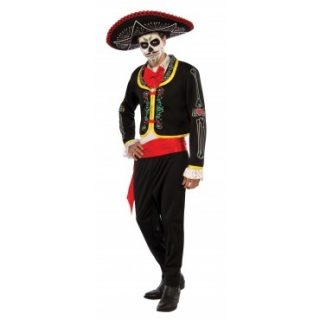Day Of The Dead Senor Adult Male