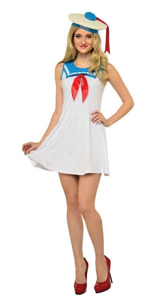 STAY PUFT FLAIR DRESS