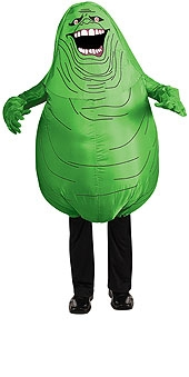 SLIMER GHOSTBUSTERS INFLATABLE COSTUME ADULT