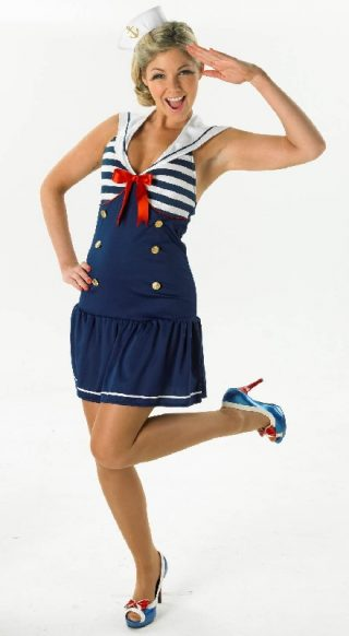 Sailor Girl Costume, Adult
