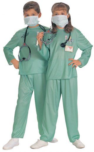 ER DOCTOR COSTUME CHILD