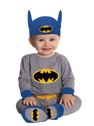 Batman Onesie (Blue/Grey), Baby