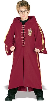 QUIDDITCH DELUXE ROBE CHILD