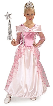 PINK STAR PRINCESS COSTUME, CHILD