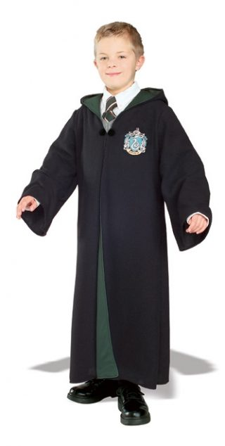 SLYTHERIN ROBE DELUXE CHILD