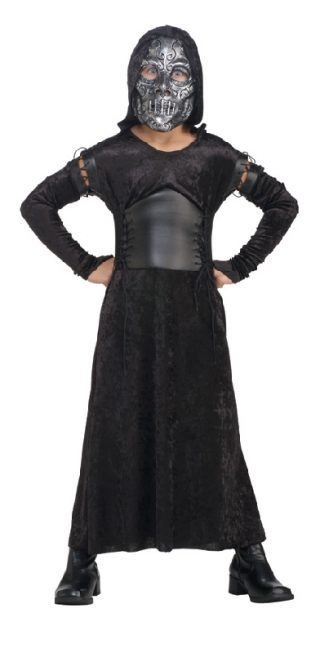BELLATRIX DEATH EATER COSTUME CHILD