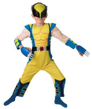 Wolverine Deluxe Costume, Child