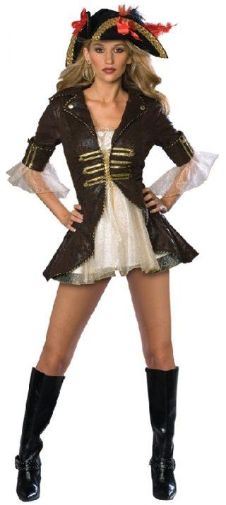Buccaneer Secret Wishes Costume, Adult