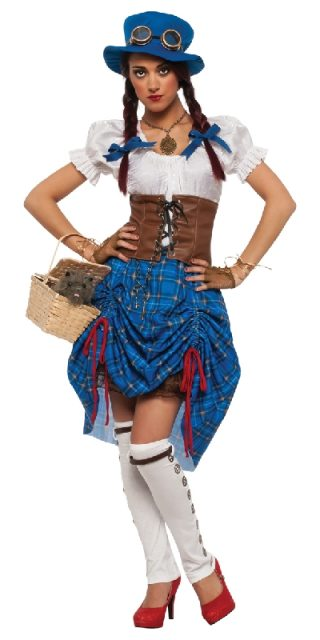 DOROTHY STEAMPUNK COSTUME ADULT