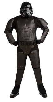 SHADOW TROOPER BLACK COSTUME ADULT